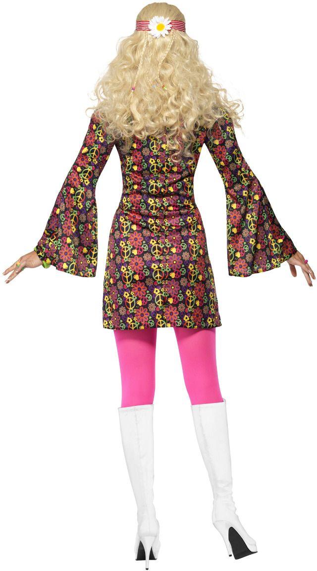Jaren 60 peace hippie outfit