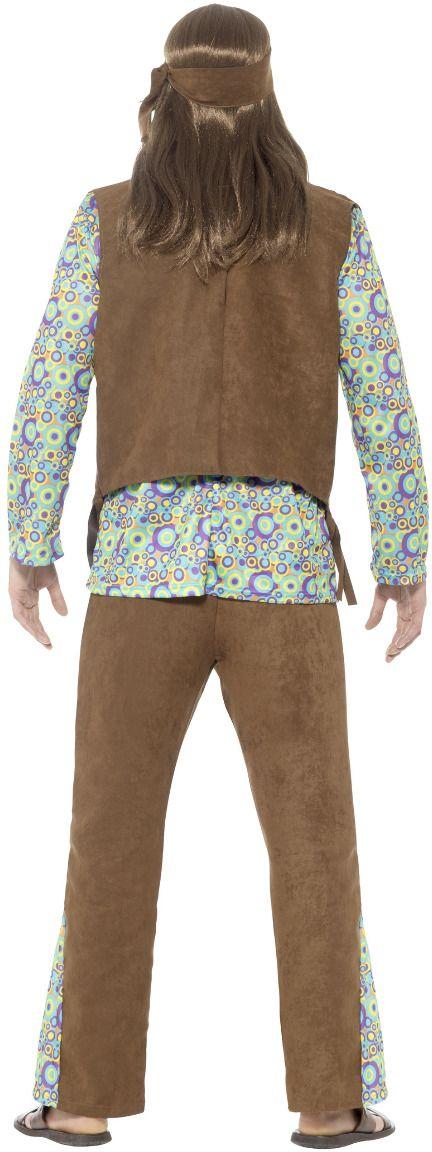 Jaren 60 peace kostuum heren