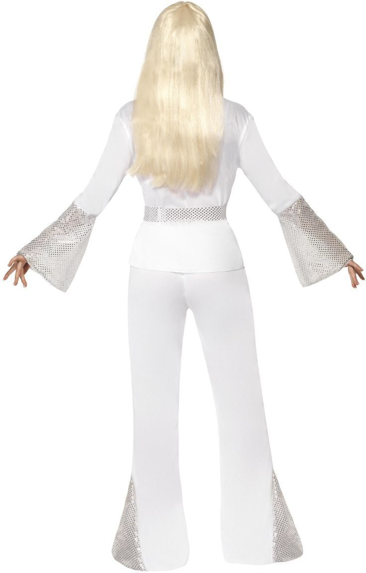 Jaren 70 disco dames kostuum