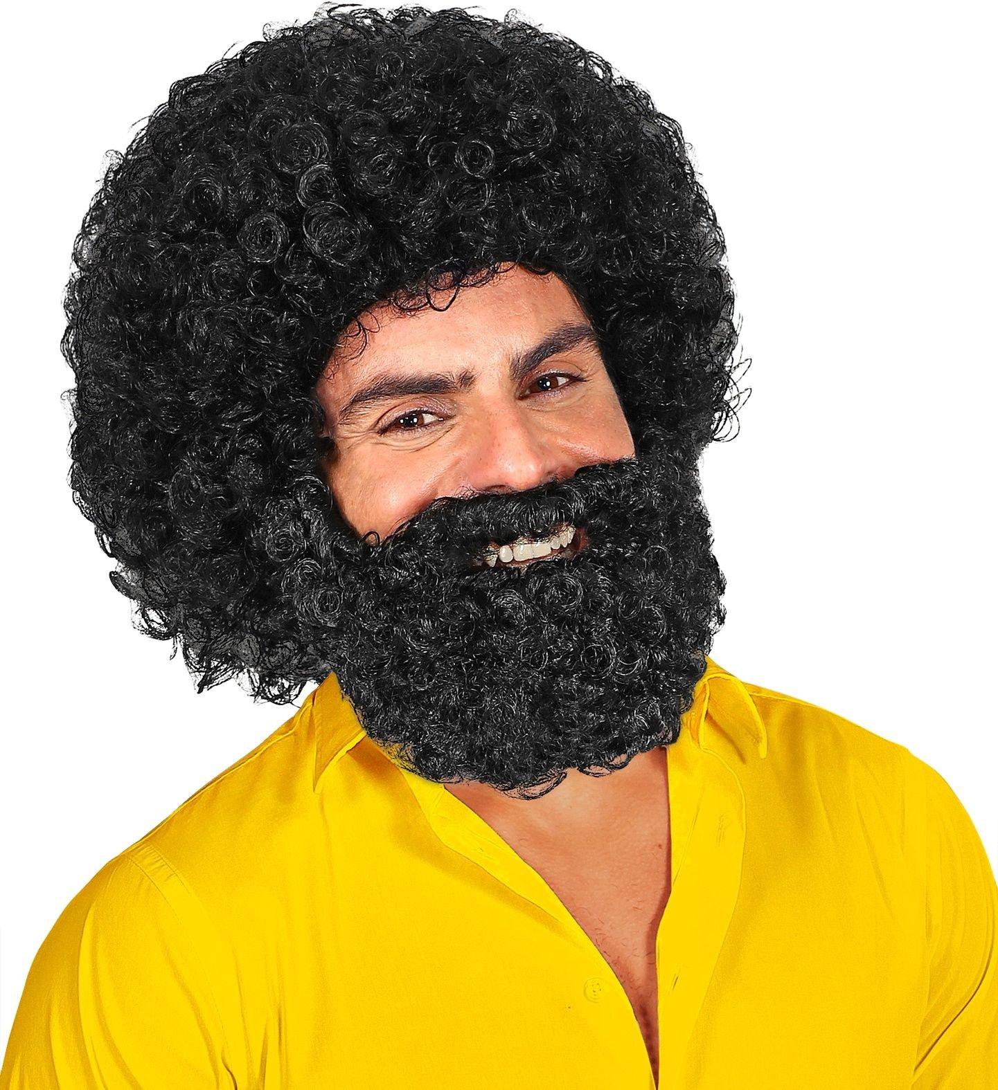Jerome pruik met baard