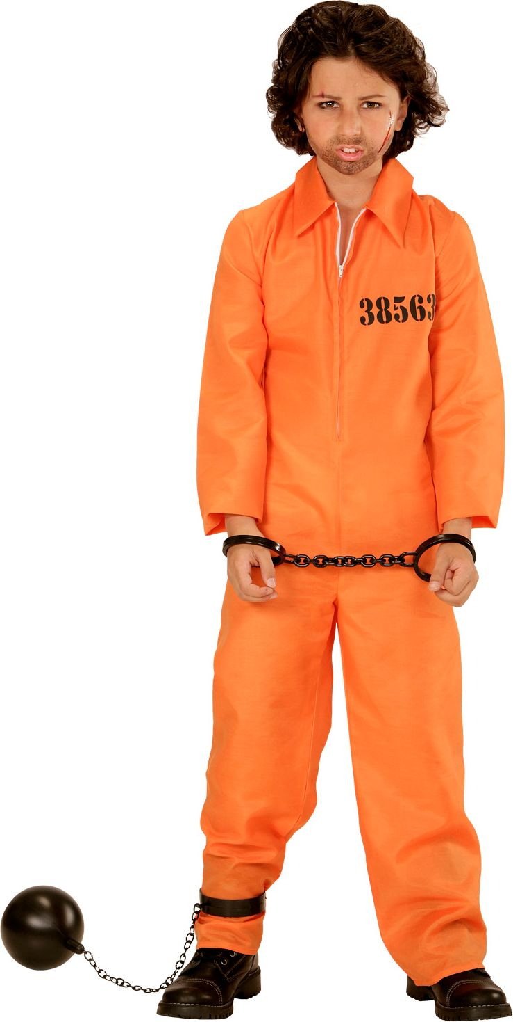 Jonge gevangene kostuum