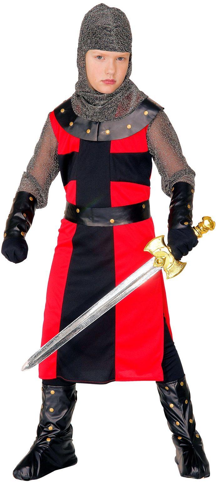 Jongen ridder kostuum