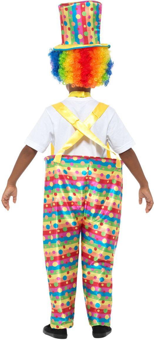 Jongens clowntjes kostuum