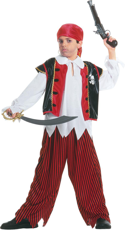 Jongens piraat kostuum