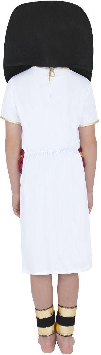 Jongens Toetanchamon kostuum wit