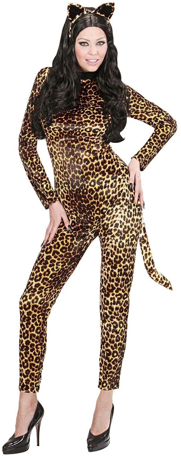 Jumpsuit Luipaard print dames