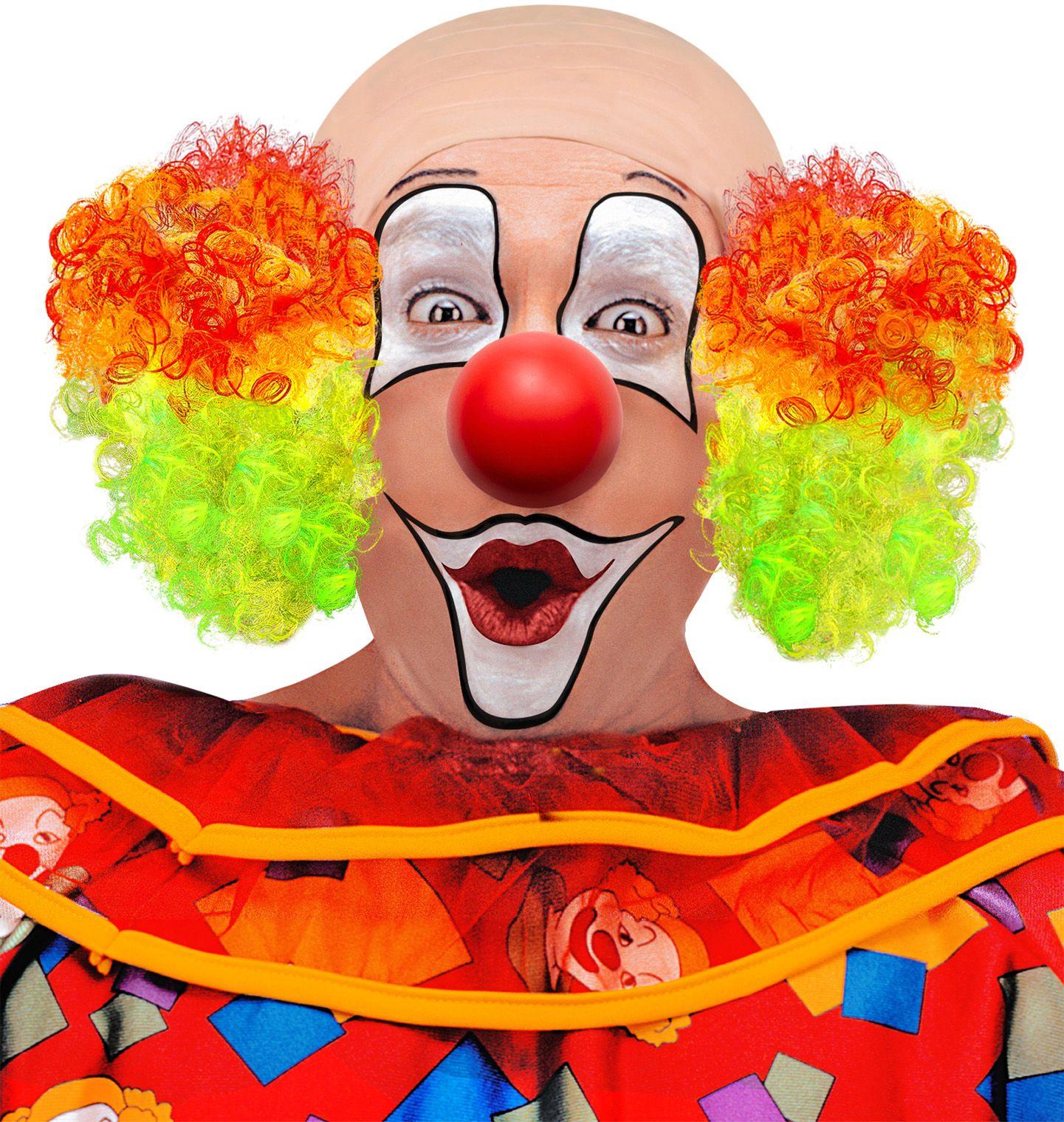 Kale clown pruik