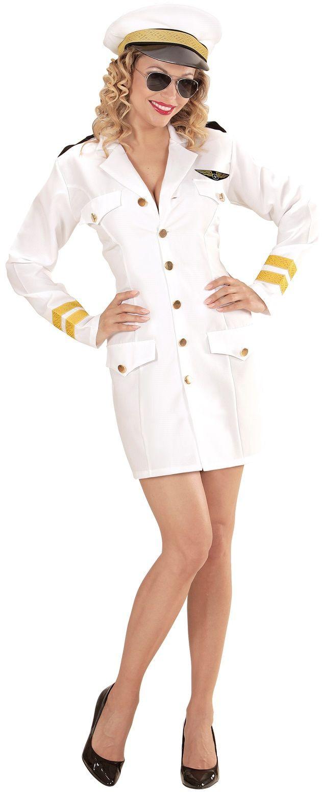 Kapitein kostuum dames