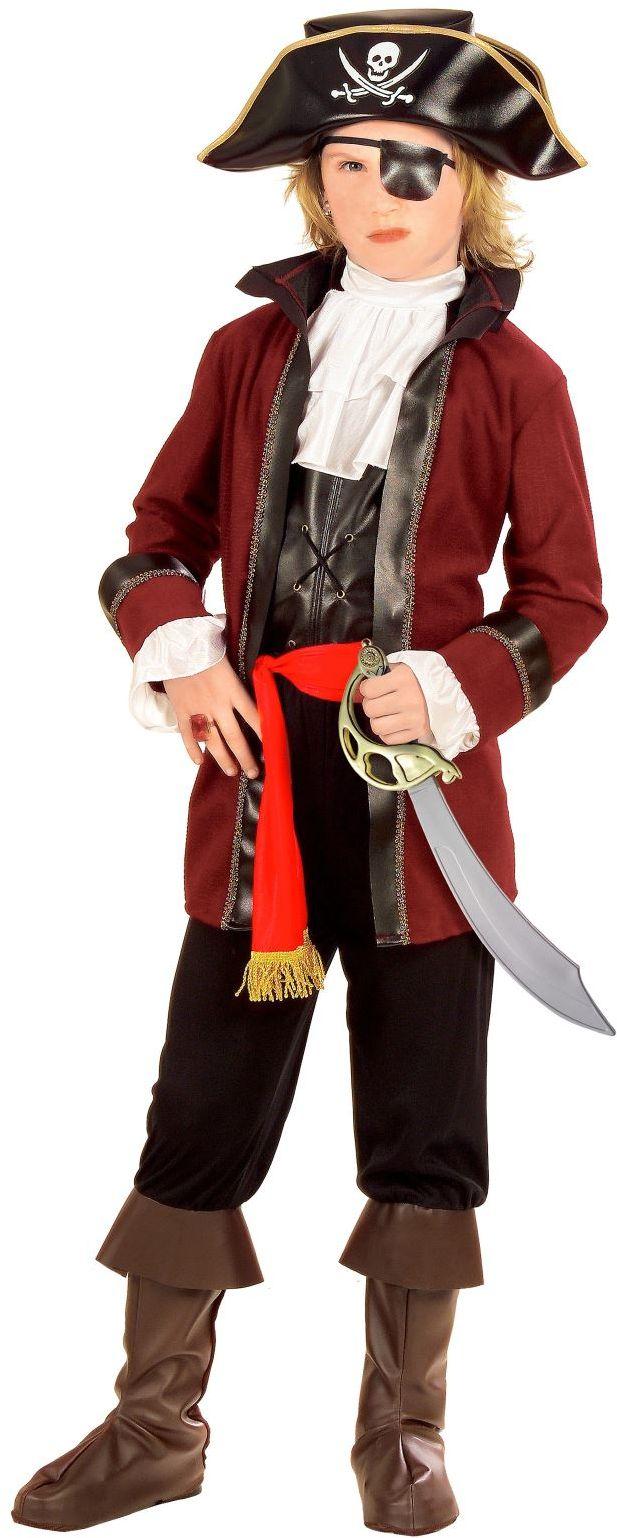 Kapitein roofeiland jongen kostuum