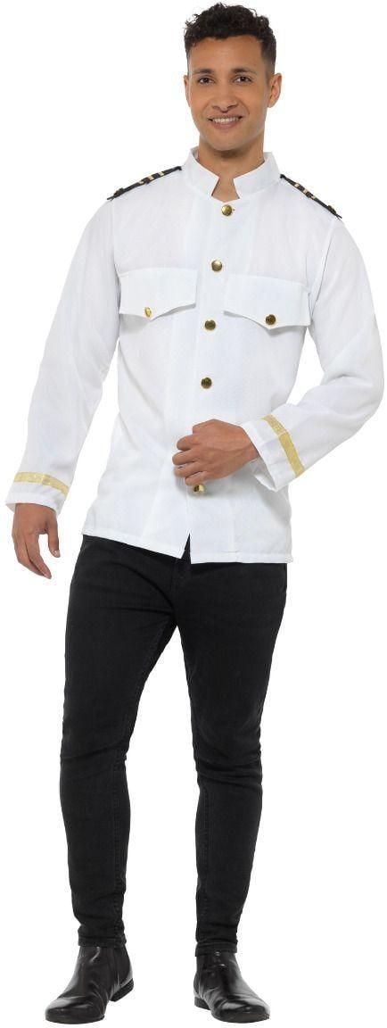 Kapiteinsjas wit