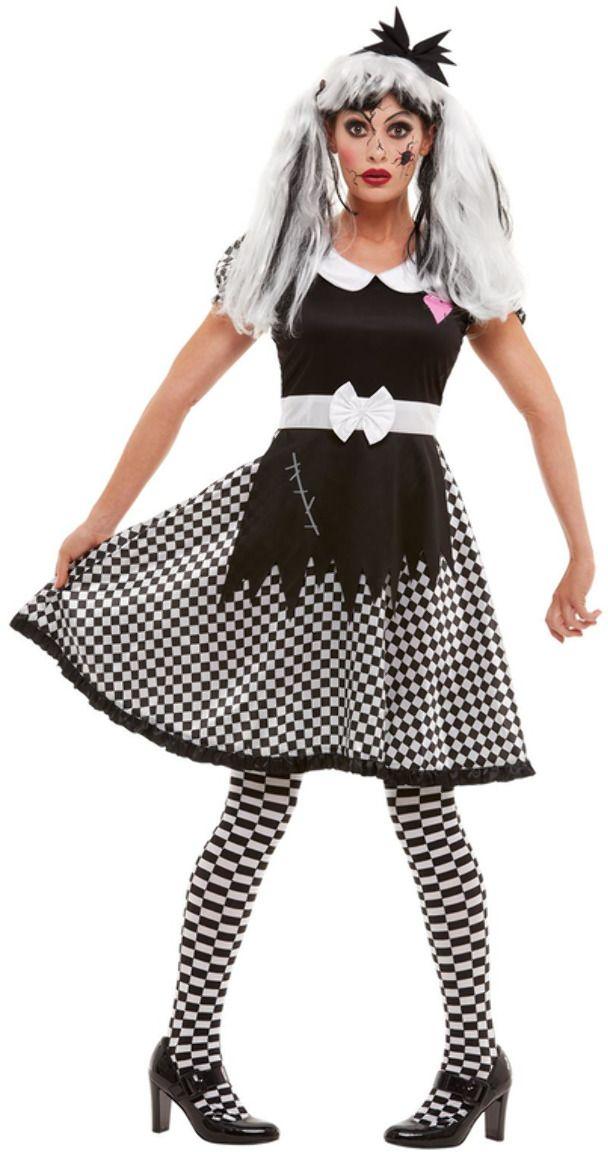 Kapotte halloween pop kostuum