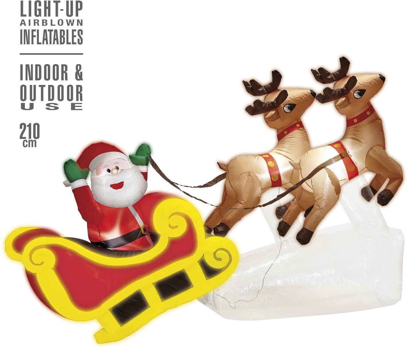 Kerst decoratie opblaasbaar