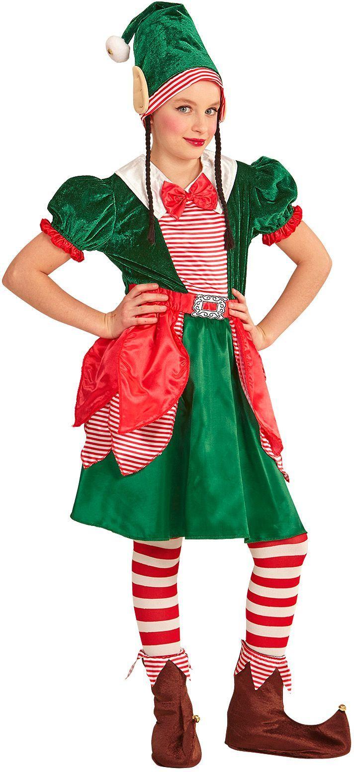 Kerst elfen jurkje kind