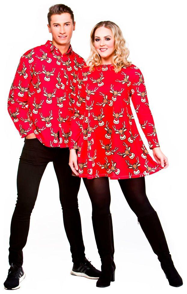 Kerst jurk rendier
