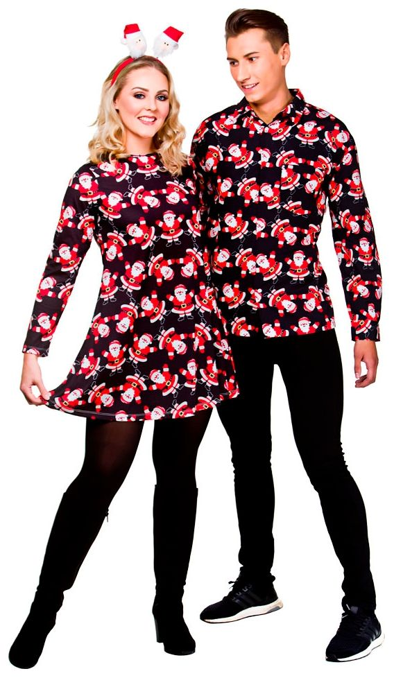 Overhemd Kerst.Kerst Overhemd Kerstman