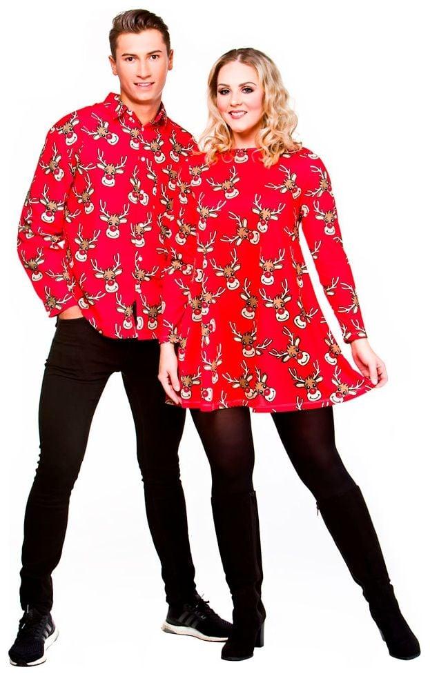 Kerst Overhemd.Kerst Overhemd Rendier Carnavalskleding Nl