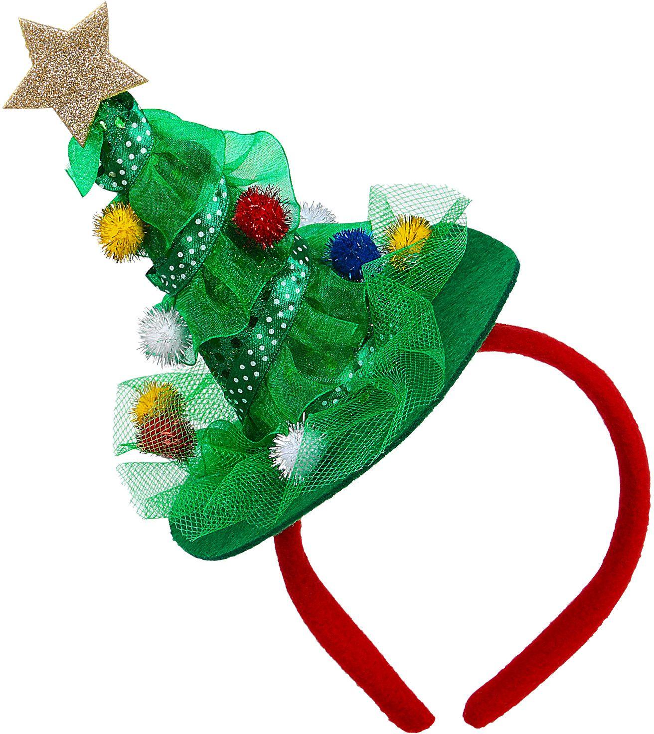 Kerstboom diadeem kerstmis