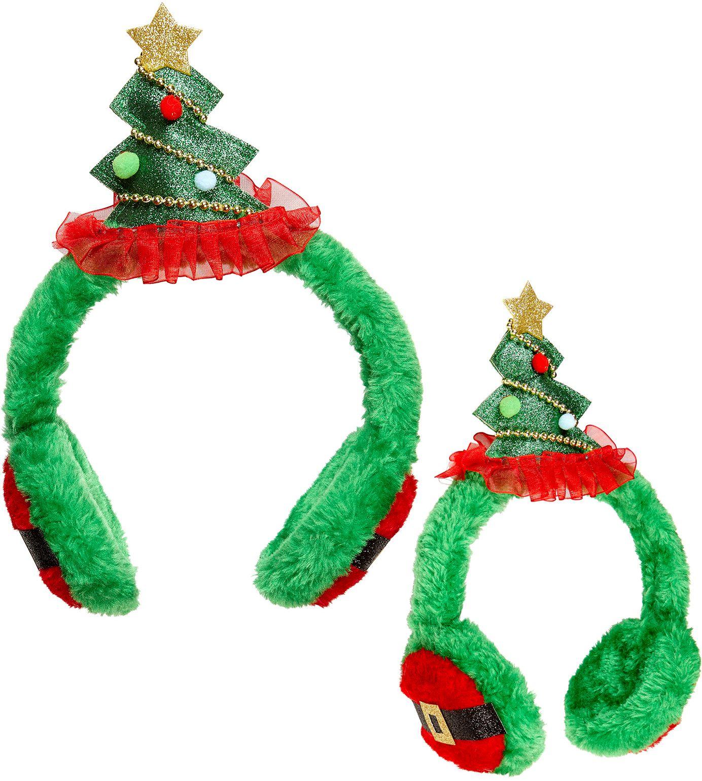 Kerstboom oorbeschermers
