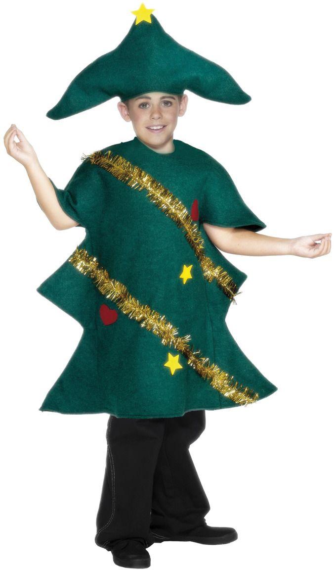 Kerstboom pakje kinderen