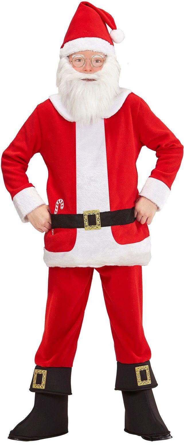 Kerstman kostuum kind