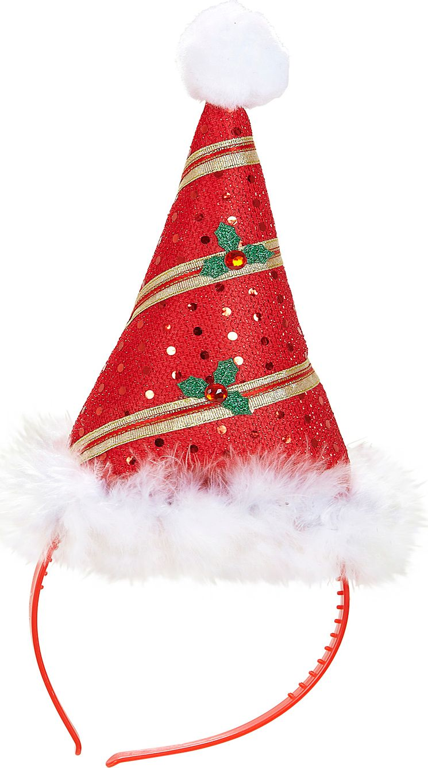 Kerstman muts hoofdband