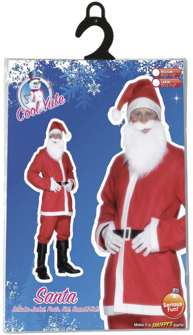 Kerstman pak heer