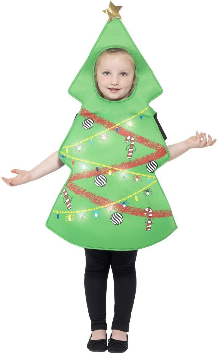 Kerstmis boom outfit