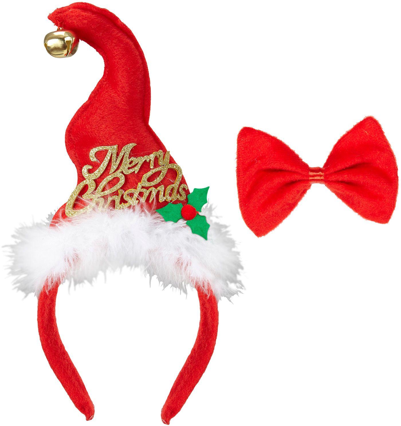 Kerstmuts en strikje