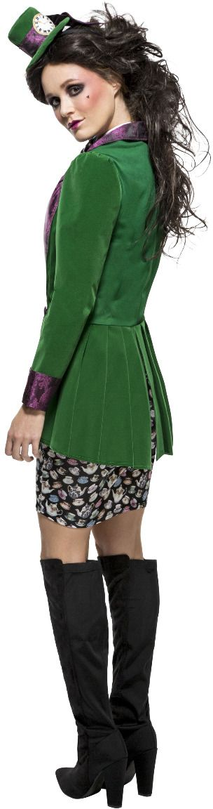 Keurige mad hatter vrouwen outfit