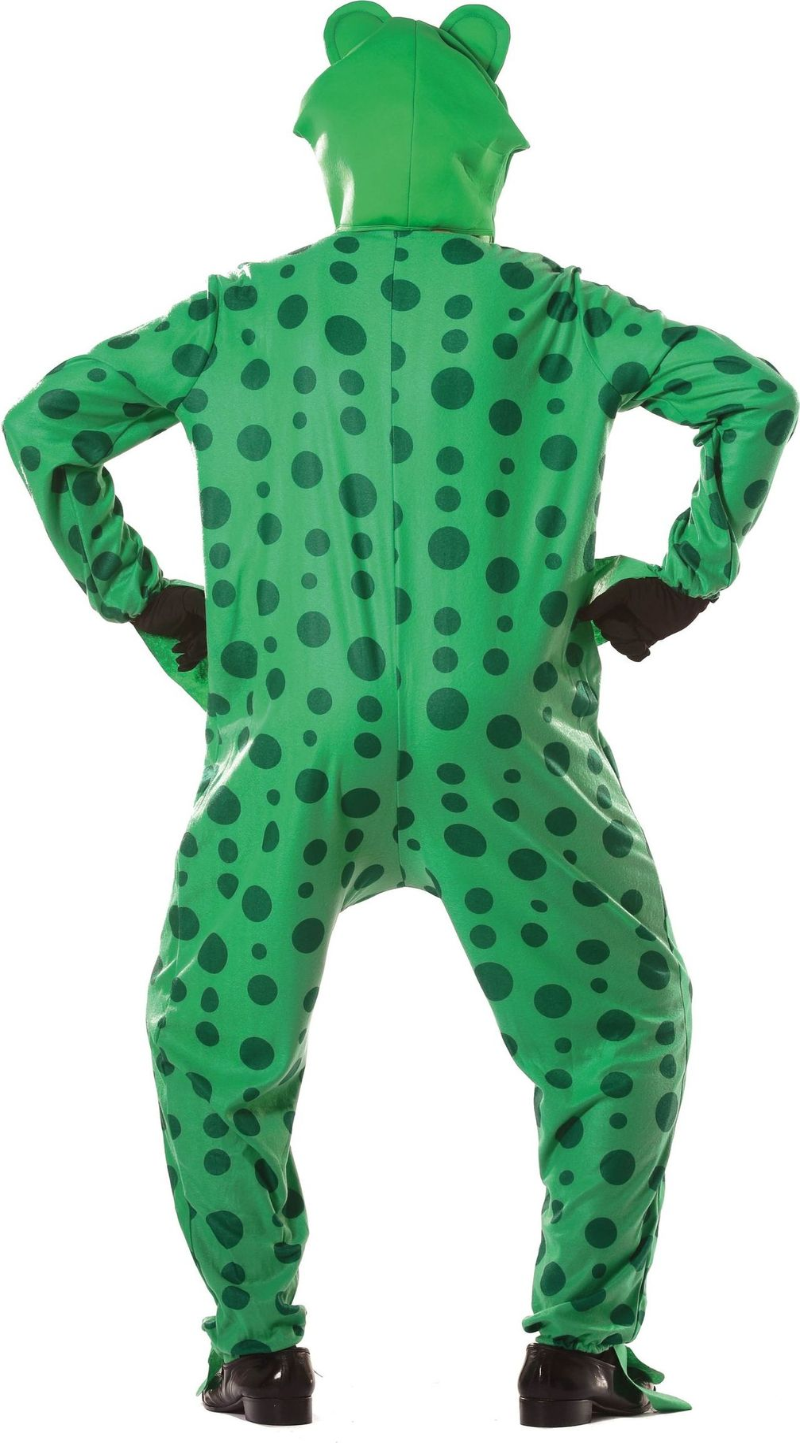 Kikker onesie groen