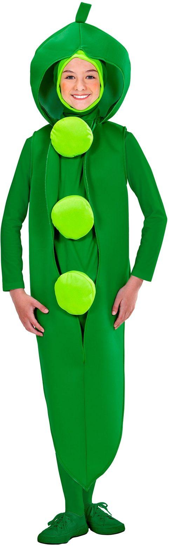 Kinder groene bonen kostuum