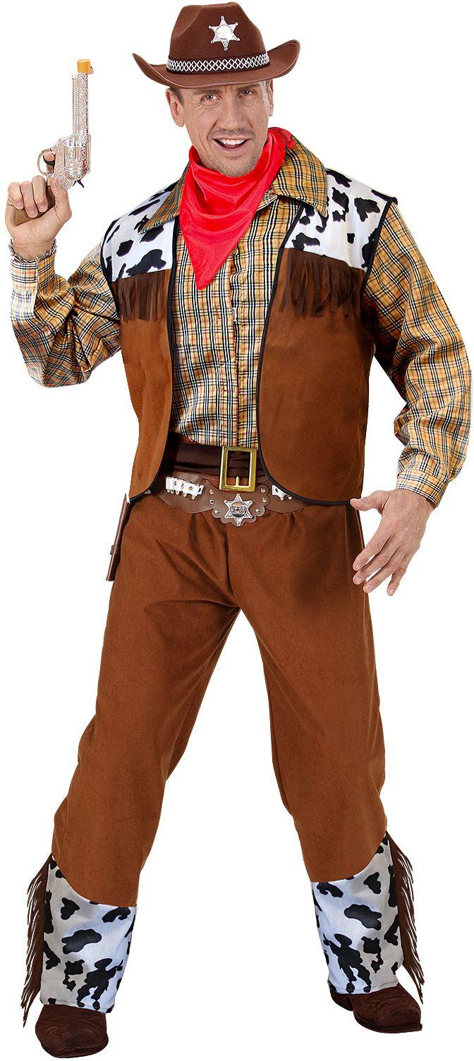 Klassieke cowboy kostuum