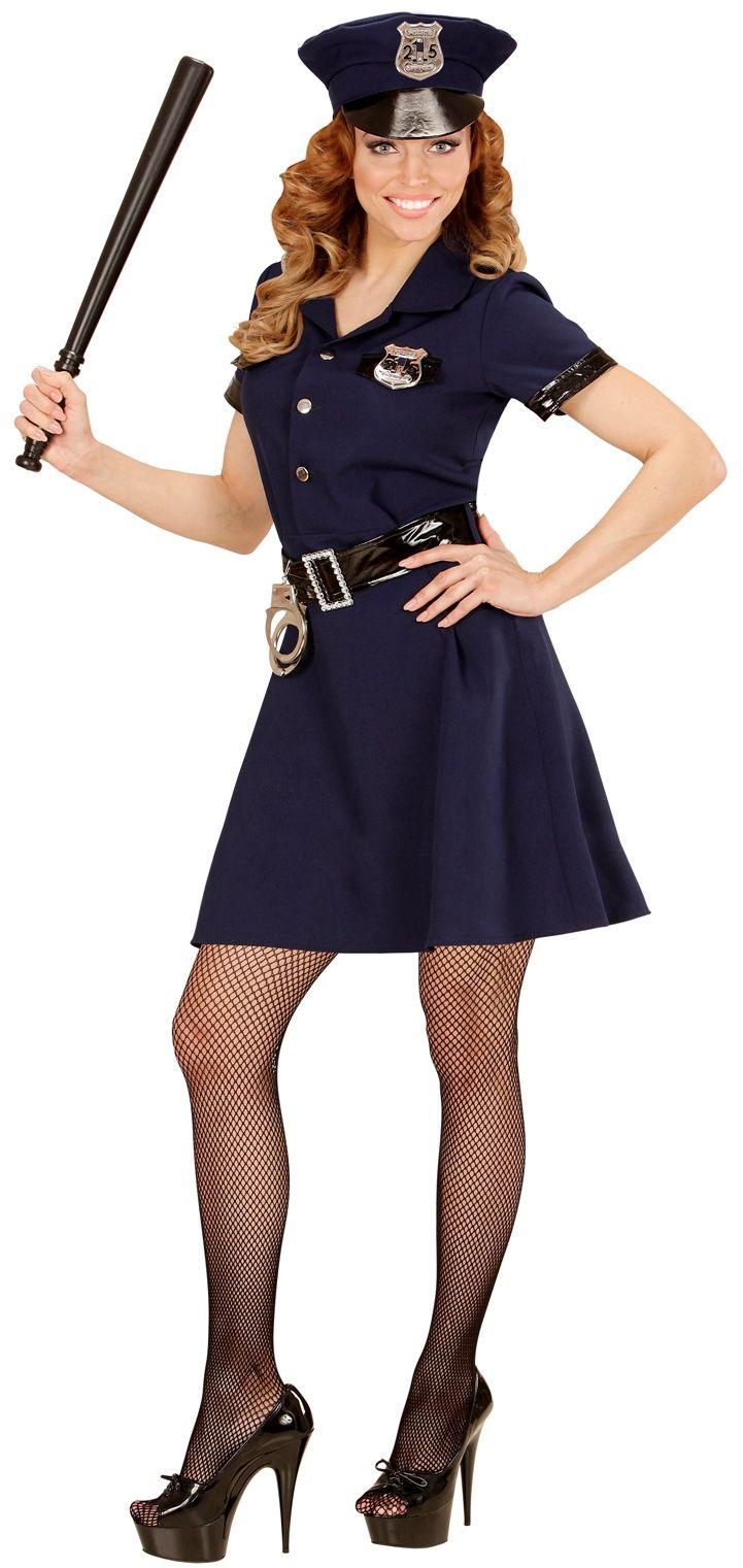 Klassieke politie agente