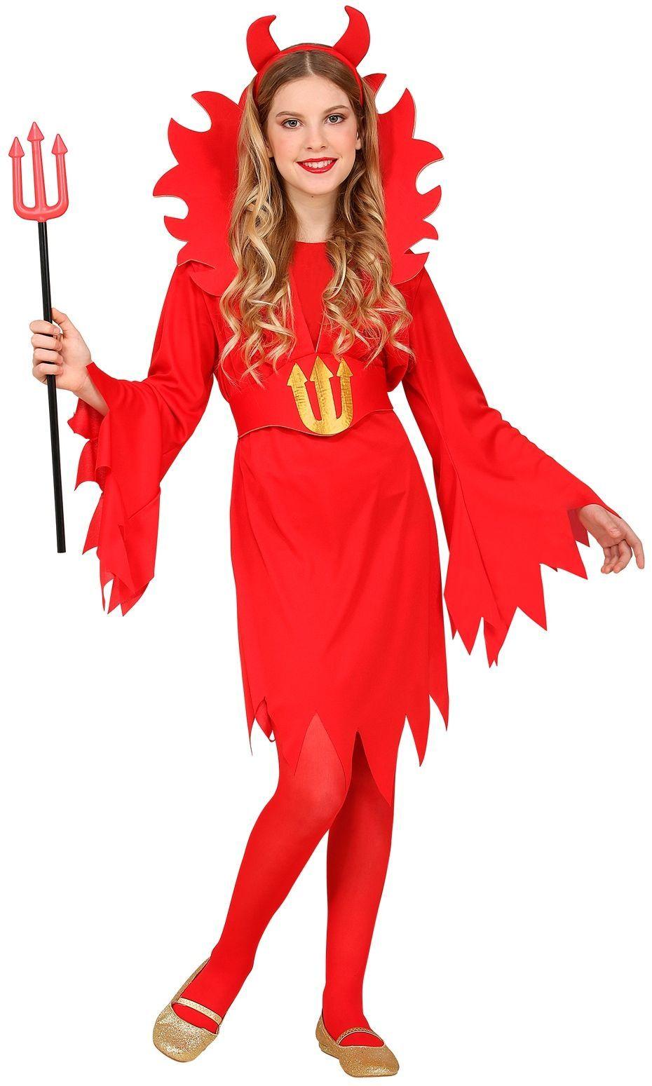 Kleine duivelin kostuum