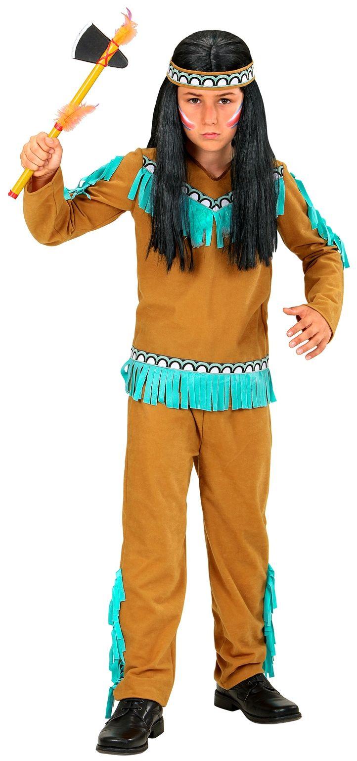 Kleine indiaan jongen