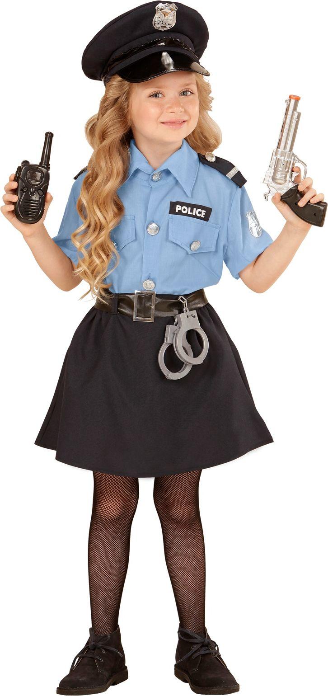 Kleine politie agente