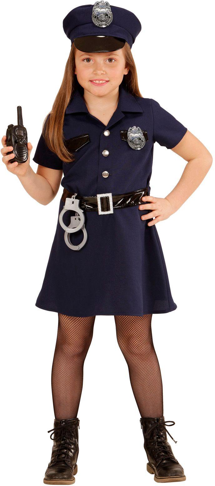 Kleine politie agente hulpje