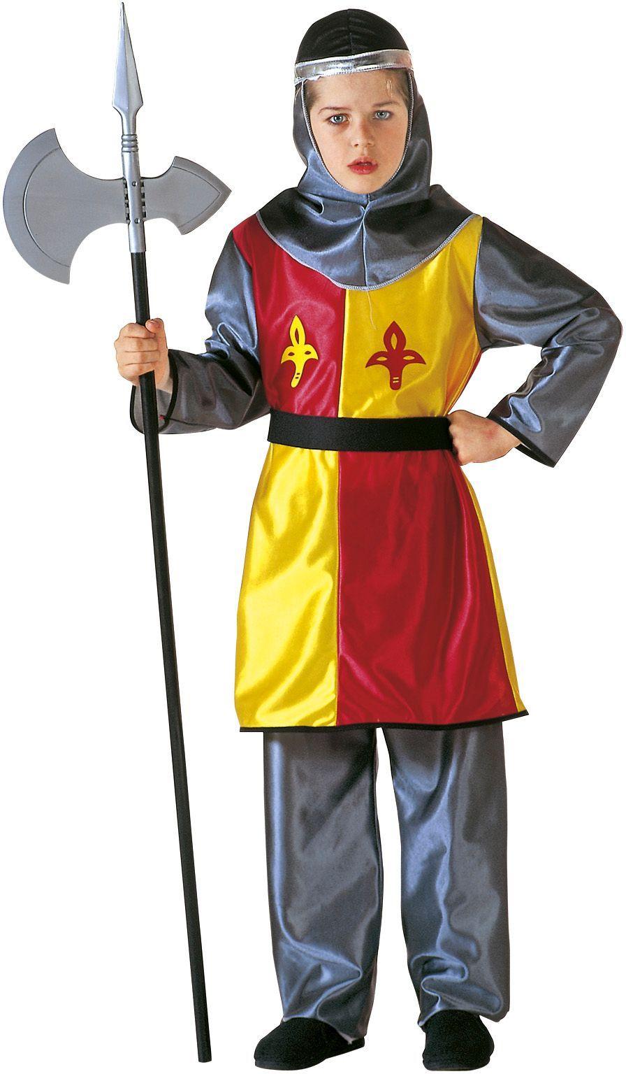 Kleine ridder kostuum