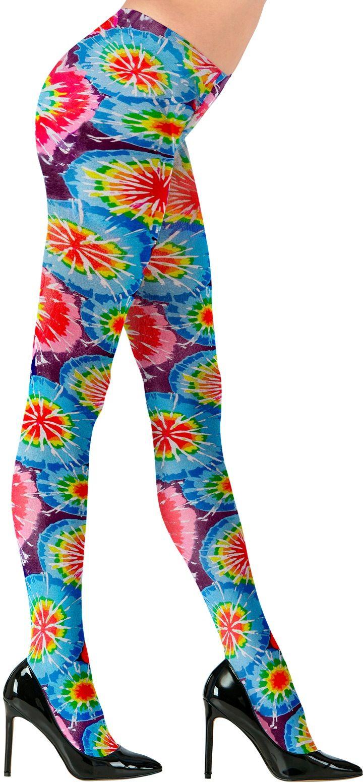 Kleuren disco panty