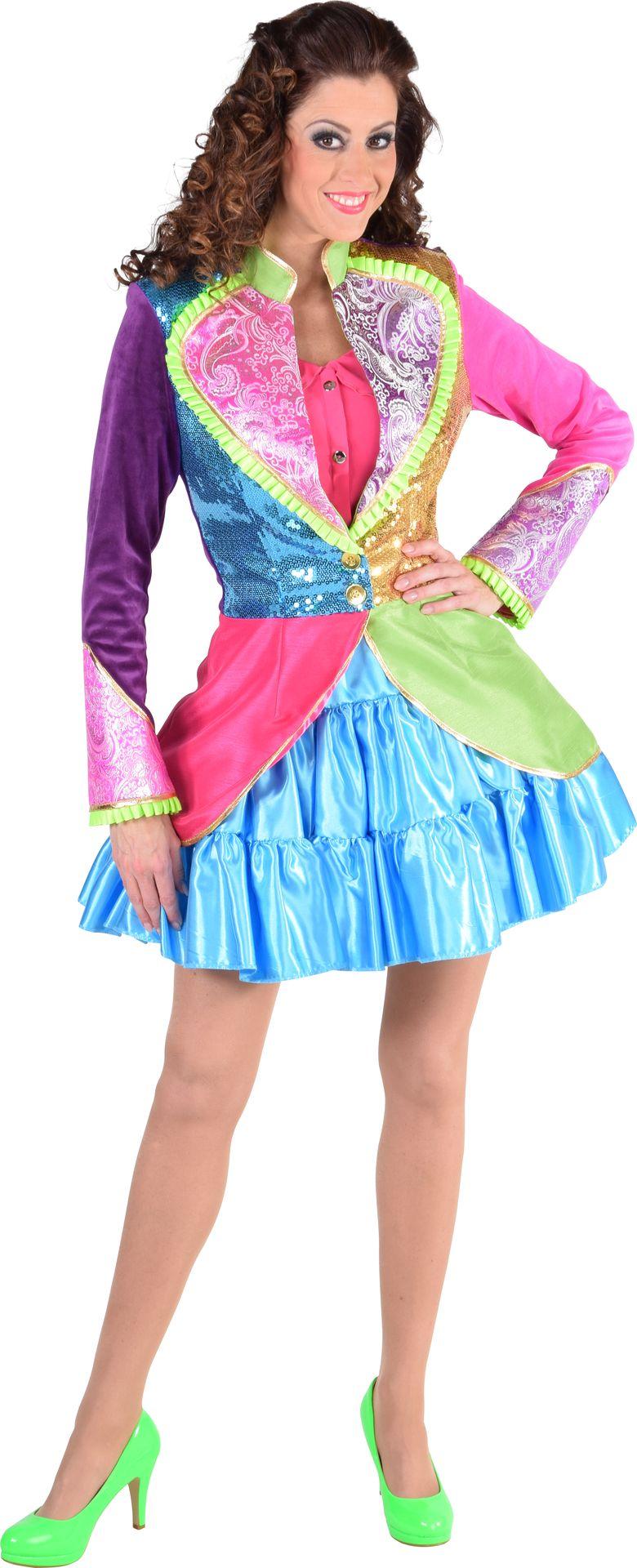 Kleurrijk carnaval jasje