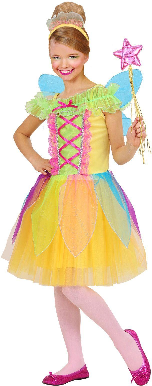 Kleurrijke fee kind