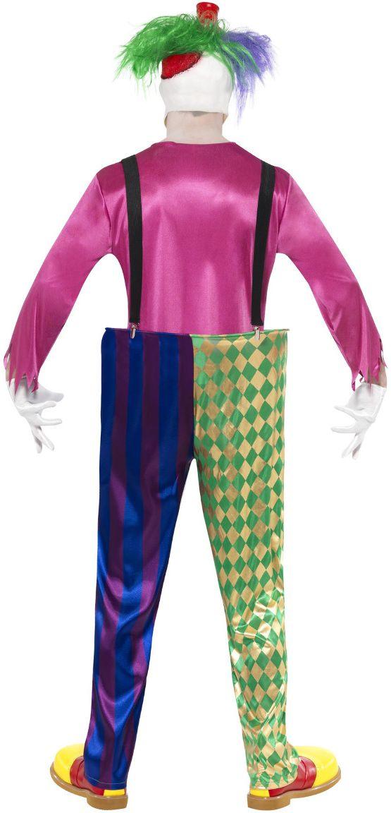 Kleurrijke killer clownspak