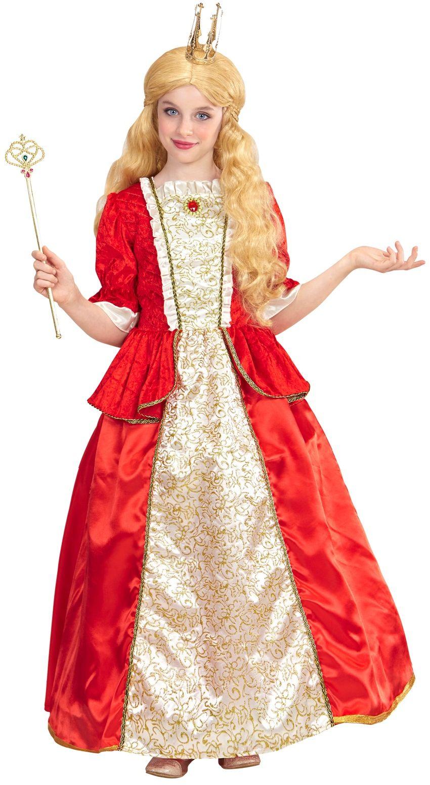 Koningin kostuum kind