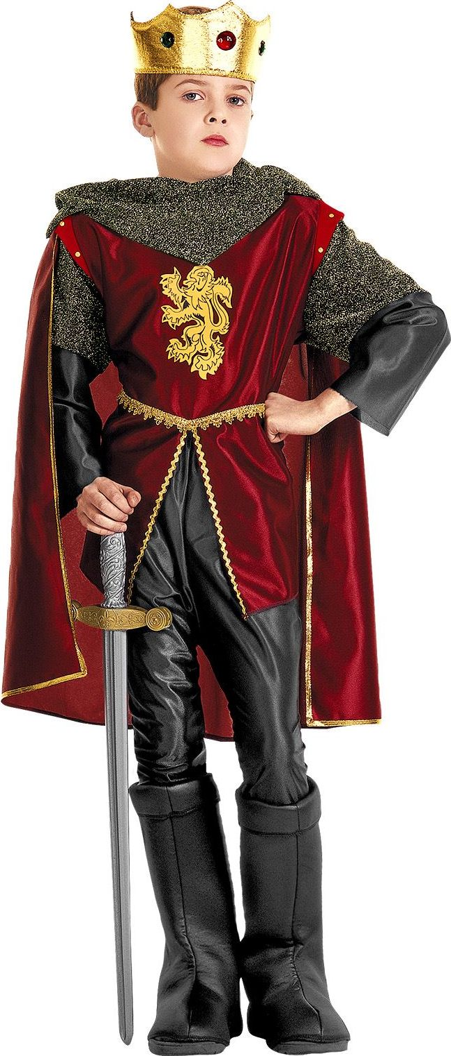 Koninklijke ridder kind kostuum
