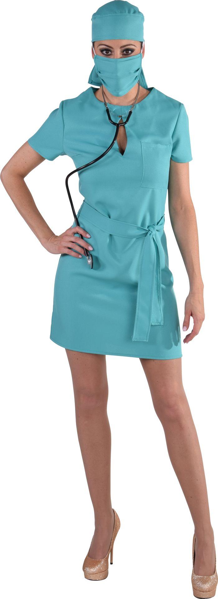 Korte chirurg jurk dames