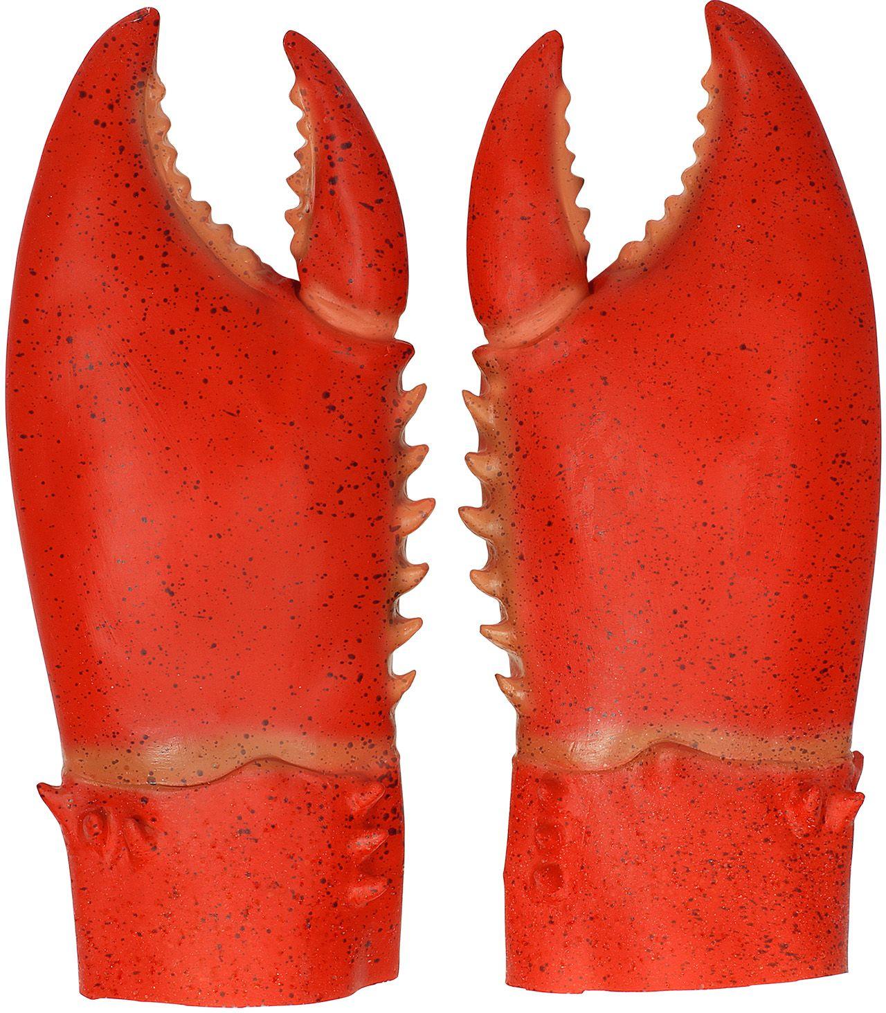 Krab klauwen rood