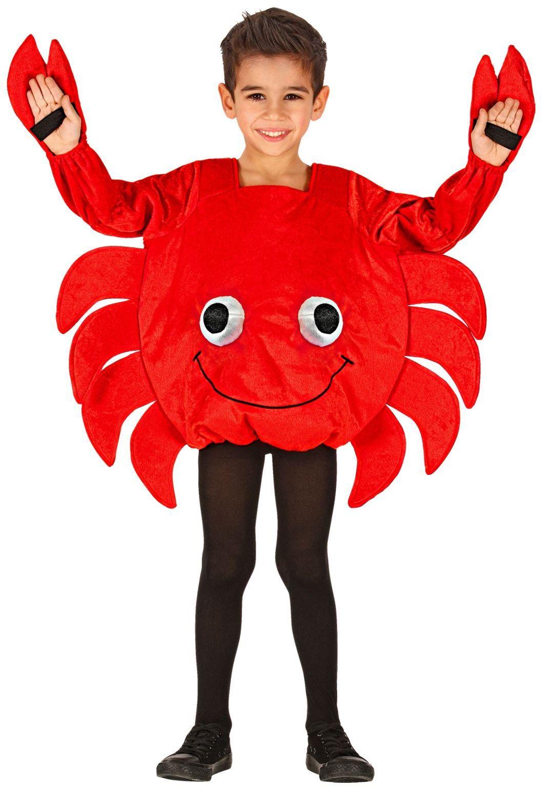 Krab kostuum kind