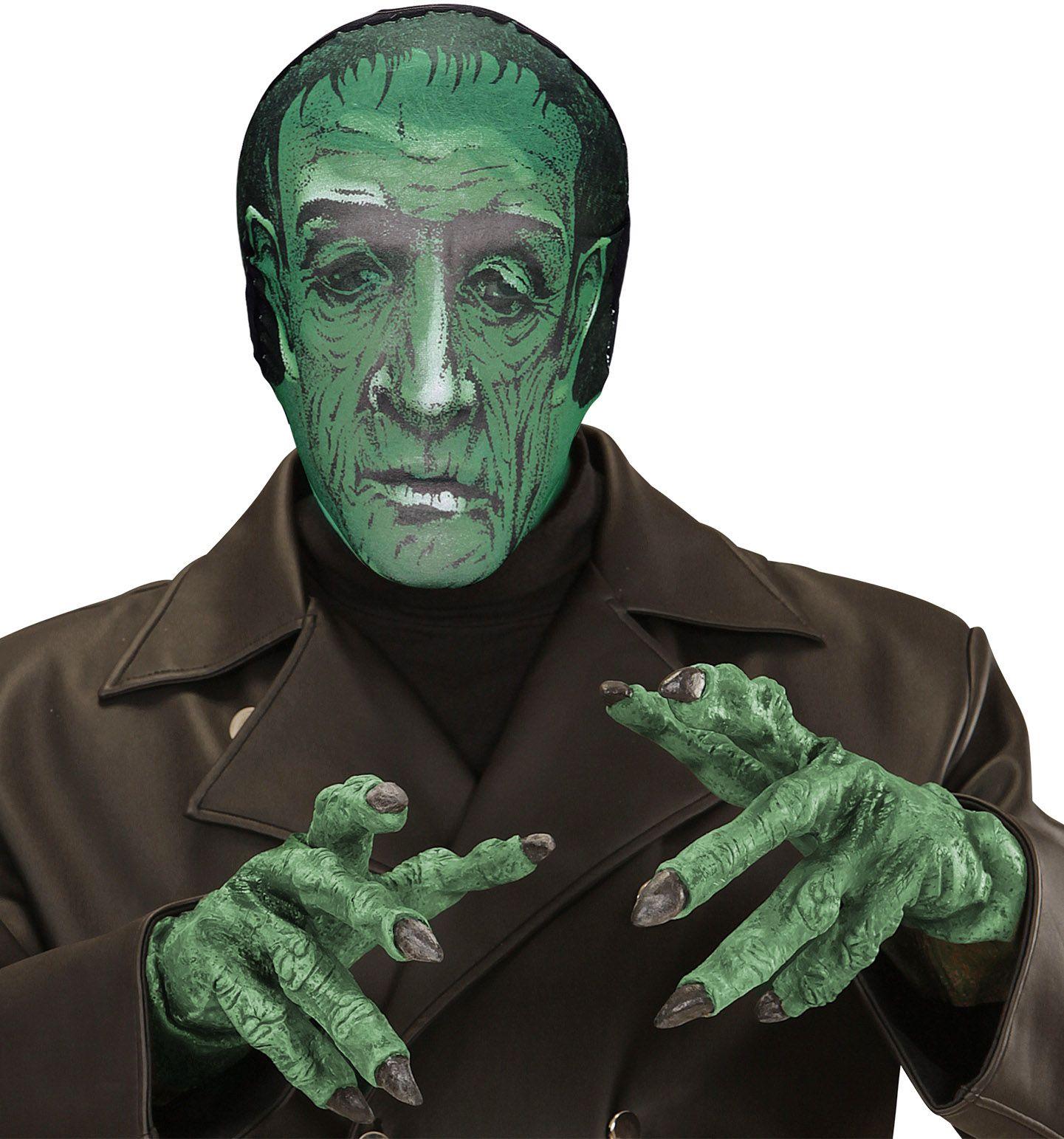 Laboratorium monster stoffen masker