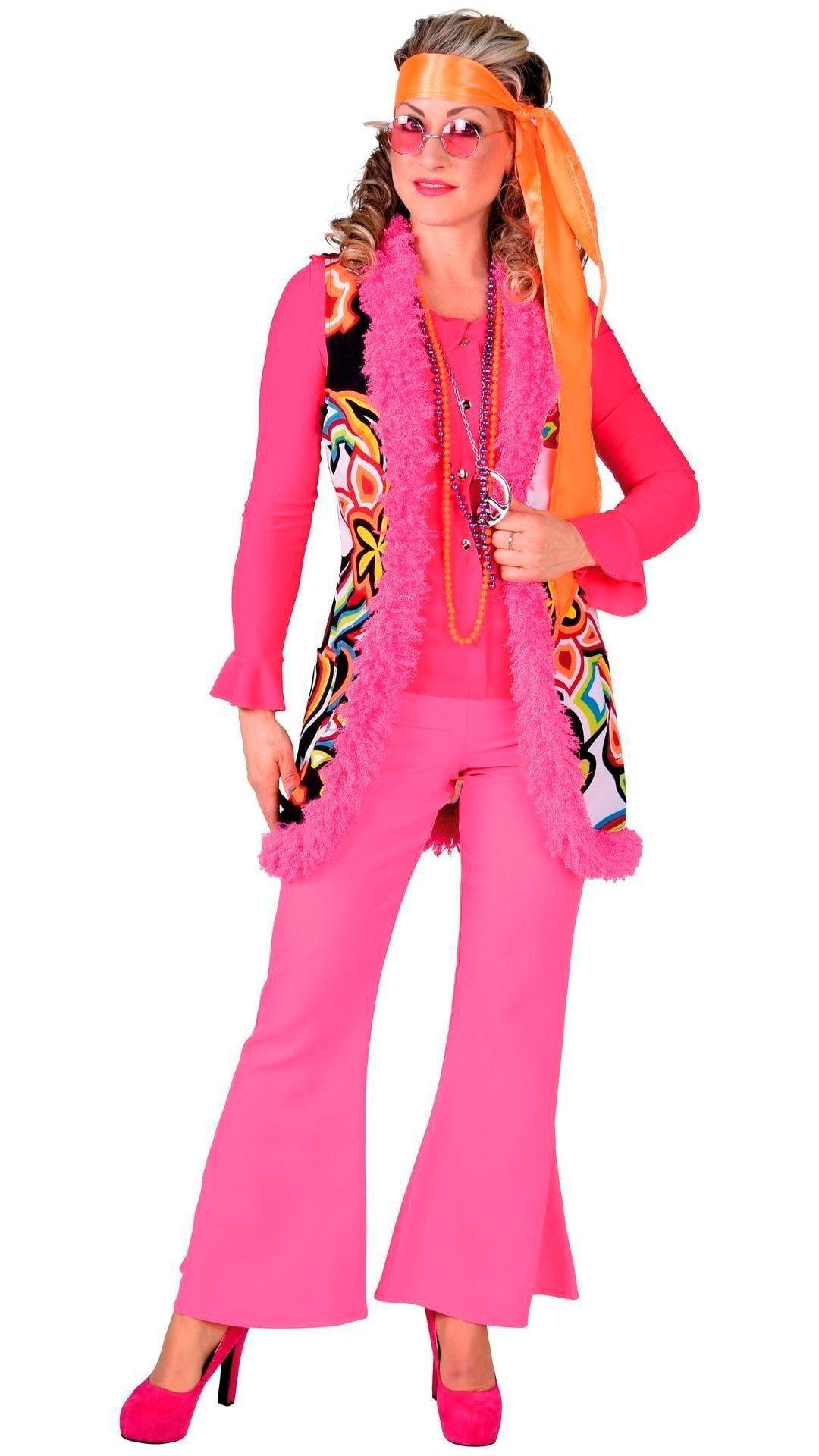 Lang hippie vest