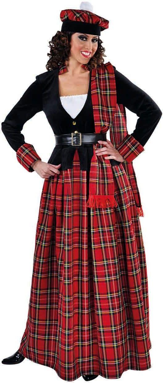 Lang Schots dames jurkje